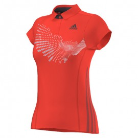 Polo Adidas BT Graphic FW14 women solar rouge