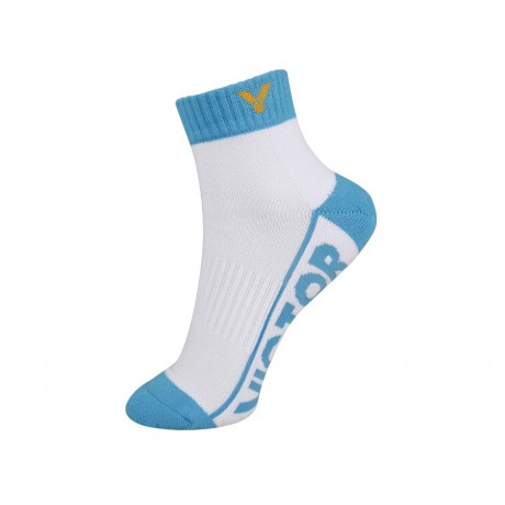 Chaussettes Victor SK235 lady blanches et bleues